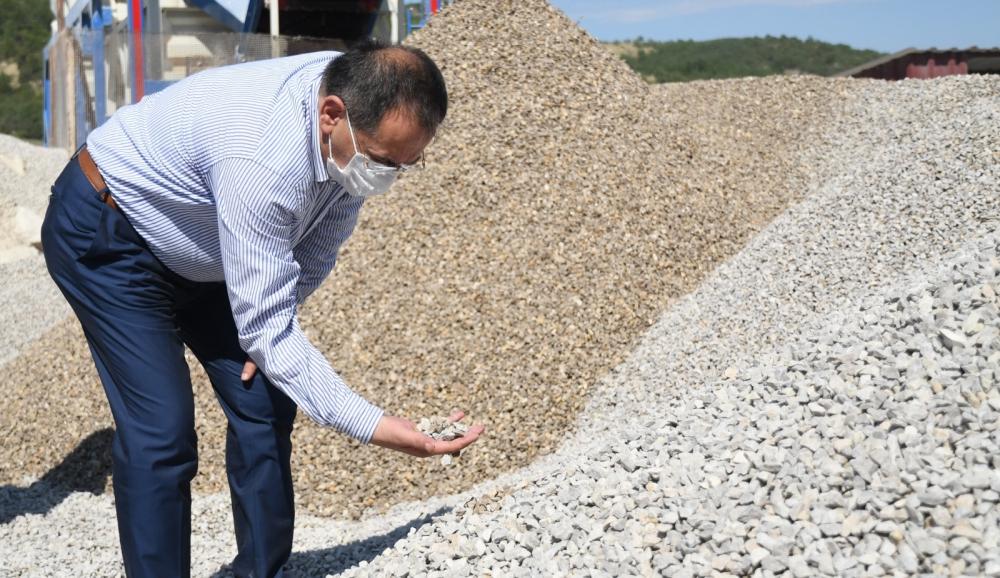 Başkan Demir : Kırsal altyapıda ilk hedef tamamlandı
