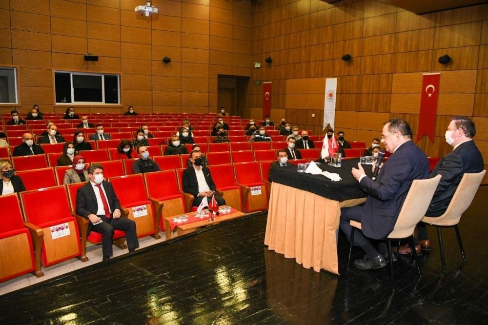 Başkan Demir: Şehrin değerlerini gün yüzüne çıkarmalıyız