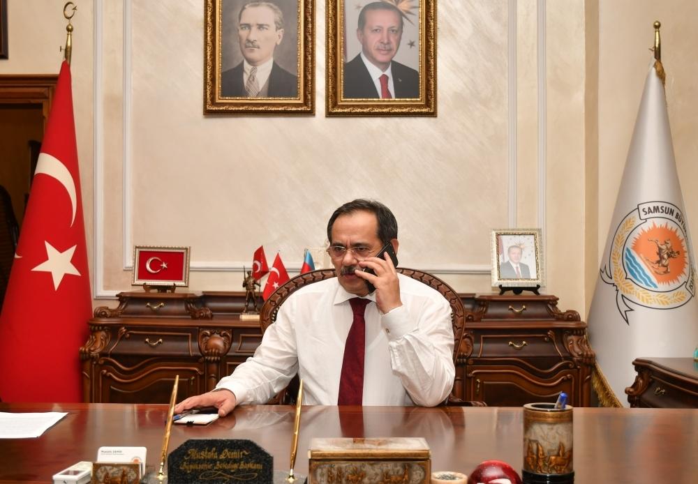 Başkan Demir: Yaşlılarımız için büyük çaba sarf ediyoruz