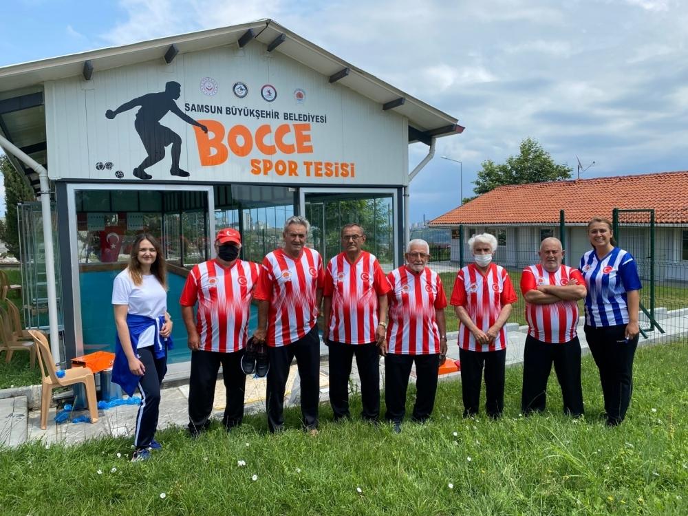 Samsun Huzurevi Bocce Takımı'nın hedefi şampiyonluk