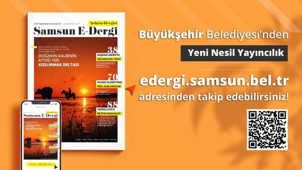 Samsun-E Dergi yayın hayatına başladı